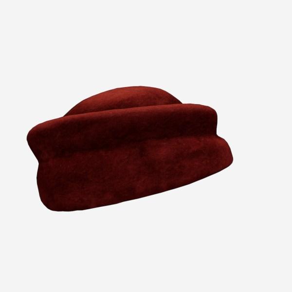 Red Velvet Hat
