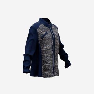 Blue Decorated Jacket
