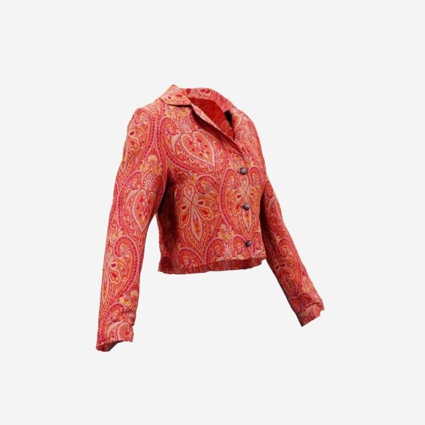 Mini Jacket Red Decoration
