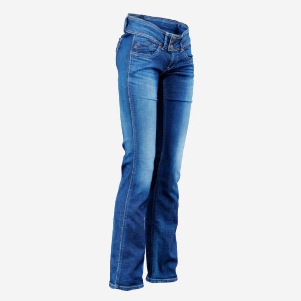 Dark Blue Jeans Long Trousers