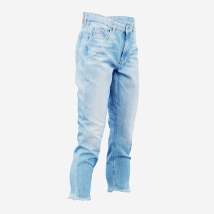 Jeans Trousers Medium Length Pants