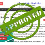 Làm sao để đăng ký Google Adsense thành công ?