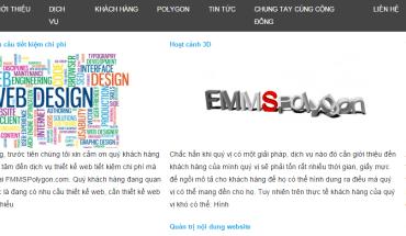 Lỗi xuống dòng trên menu ul li dùng trình duyệt web Chrome 39 xem FMMSPolygon.com