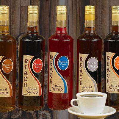 Reach Syrups, σιρόπια για καφέ