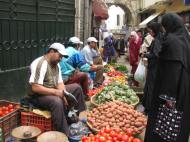 Buying Groceries In Morocco