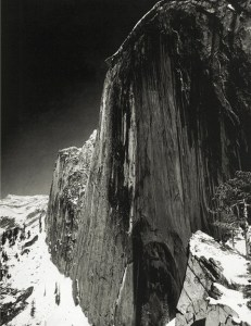 Ansel Adams, Monolith, the Face of Half Dome, 1927
