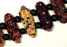 Lori Feiss, Indian Corn Bead Bracelet, 1995