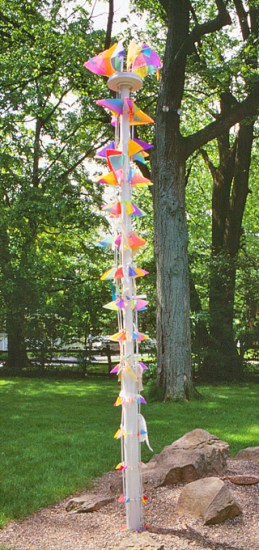 Victoria Hughes, Ola Nyingma, 1997, 14 feet high