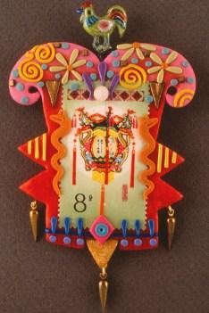 Victoria Hughes, Chinese Lantern Pin, 1989