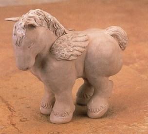 Donna Kato, Pegasus, 1995, 8″ h