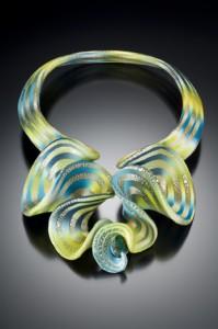 Elise Winters, Citron Cascade Neckpiece, 2009
