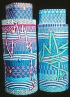 City Zen Cane, (aka Ford/Forlano) Two Tube Cane Vessels, circa 1991