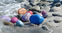 Rachel Gourley, Rocks on Beach, 2010-2011