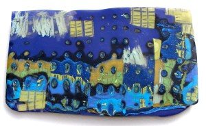 "Victoria Hughes, Town for VVG, 1993, 1.75"" x 3"""