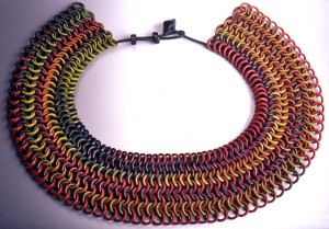 Nan Roche, Chain Mail Necklace, c.1999