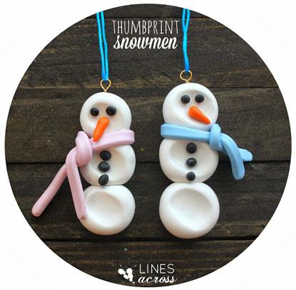 Tutorial: Snowmen Decoration