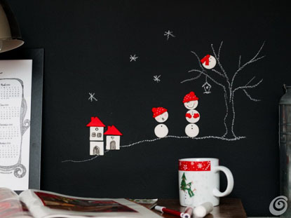Wall-Decor-with-Polymer-Clay-Magnets