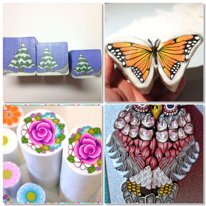 Polymer Clay Cane Finds