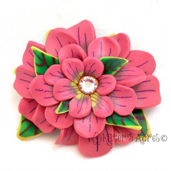 flower clay tutorial - photo #28
