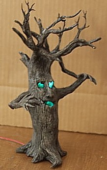 Tutorial Scary Clay Tree Polymer Clay