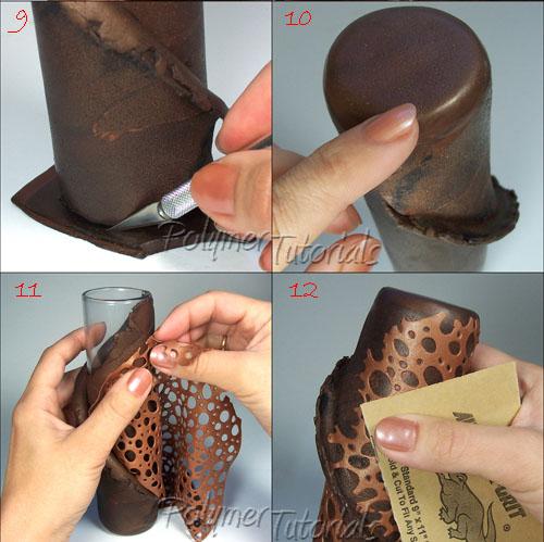 free-polymer-clay-vase