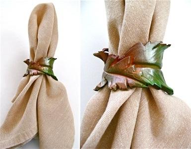 leaf-napkin-ring
