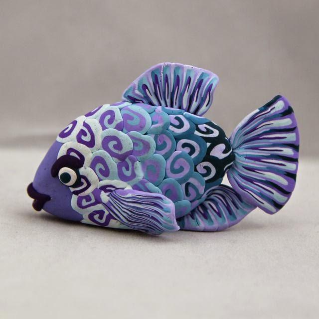 Tutorial Polymer Clay Fish Craft Gossip Bloglovin