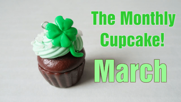 St Patrick Day Cupcake Charms