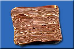 Faux Wood Grain with Polymer Clay