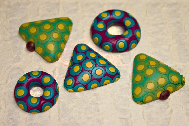 Clay Polka Dots