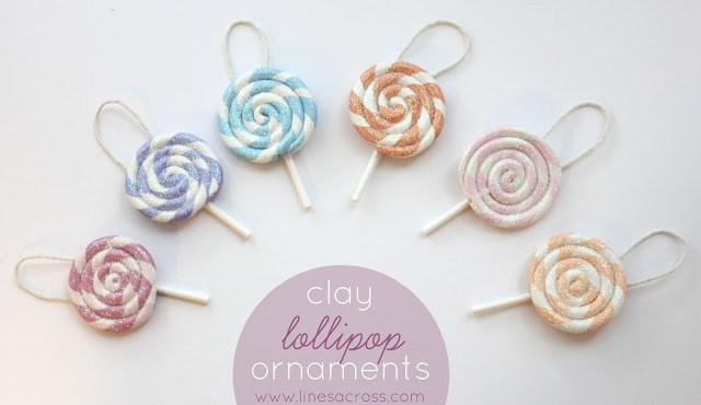Lollipop Christmas Ornaments