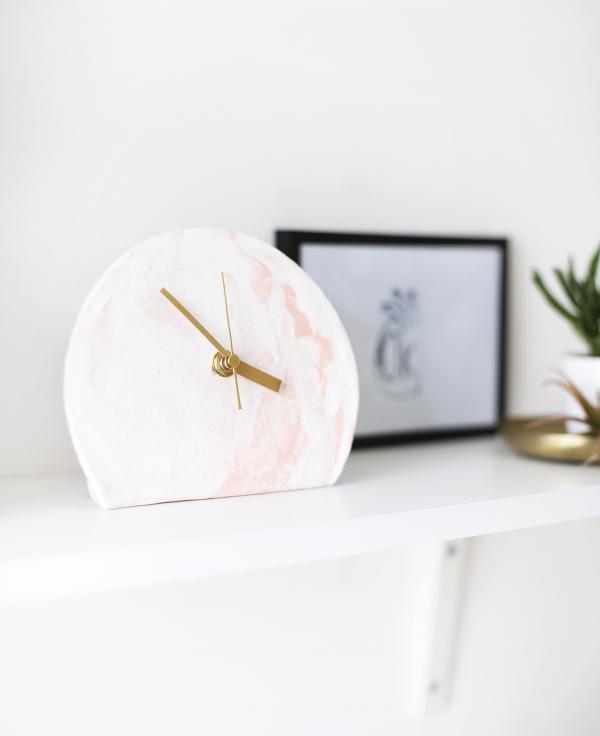 Polymer Clay Clock Idea