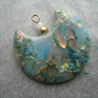 Polymer Clay Opals with Mokume Gane