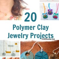 DIY Polymer Clay Jewelry Projects