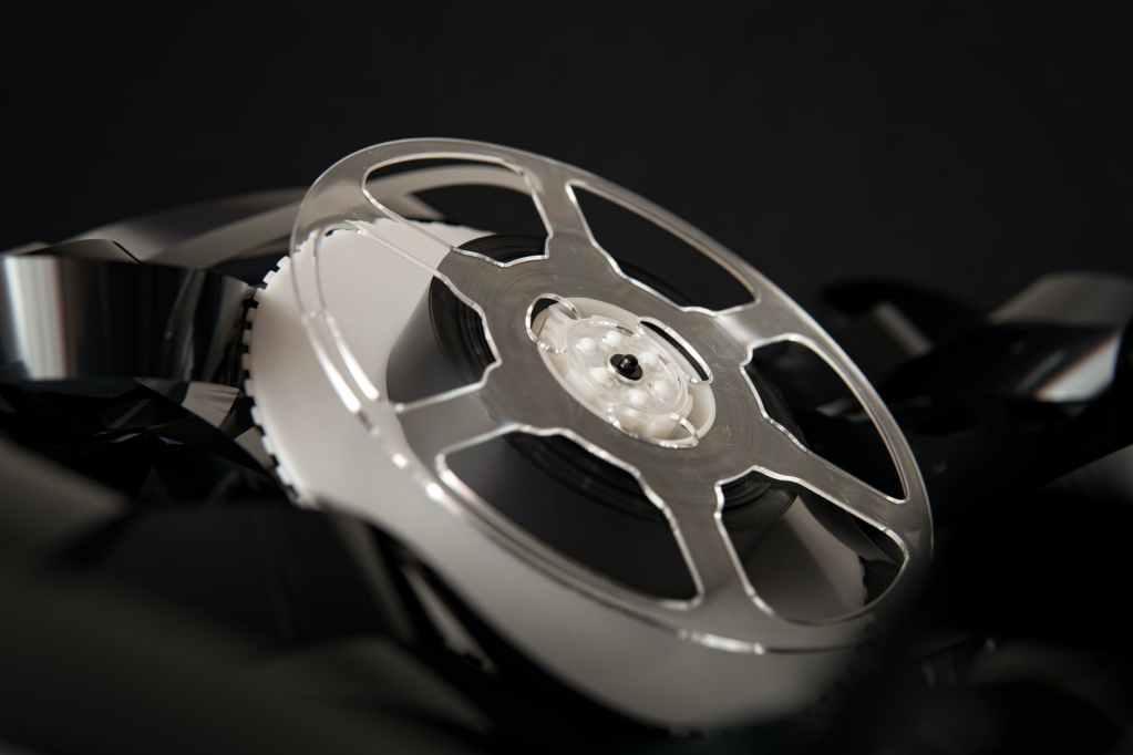 bobbin on heap of film
