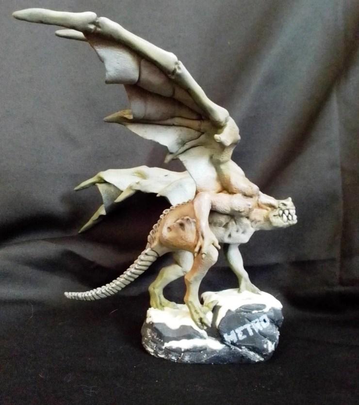 Polymer clay figurines Demon METRO 2033