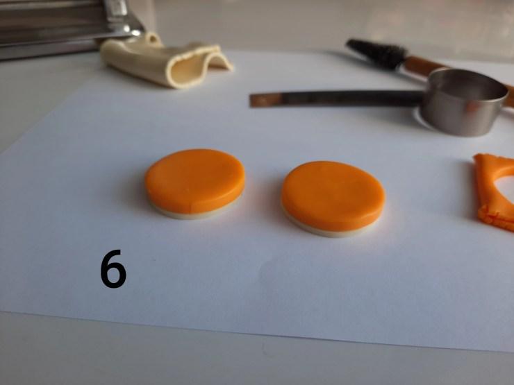 Photo 6. Polymer clay cake tutorial