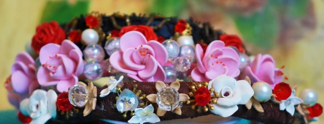Polymer clay Hairbands