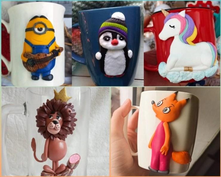 Polymer clay decor ideas & tutorial