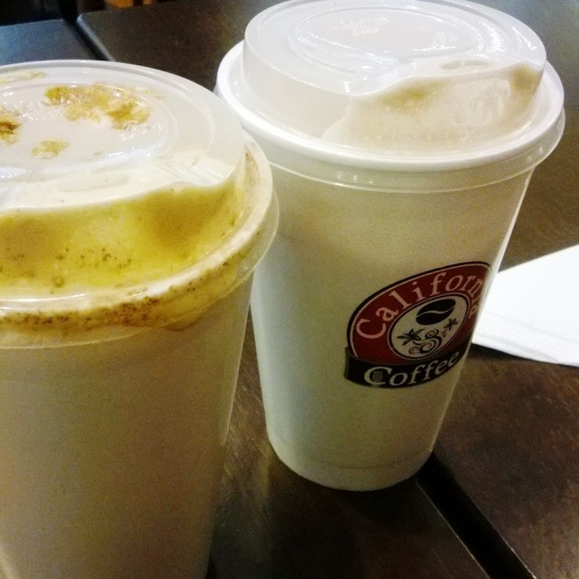 Não temos Starbucks, mas temos California Coffee <3