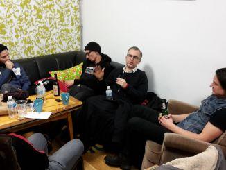 Pascow und Bocky im Gespräch. Foto: Falk Fatal