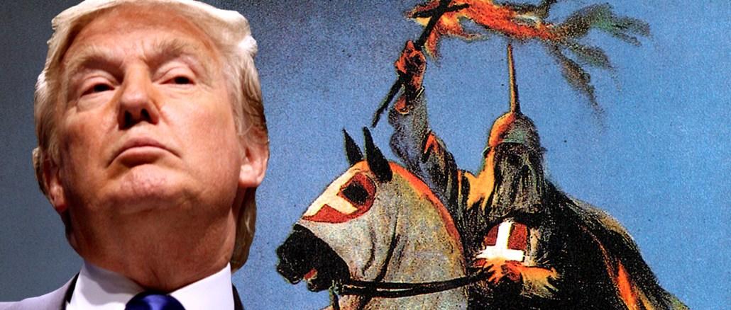 Donald Trumps USA: das Amerika des Ku-Klux-Klans