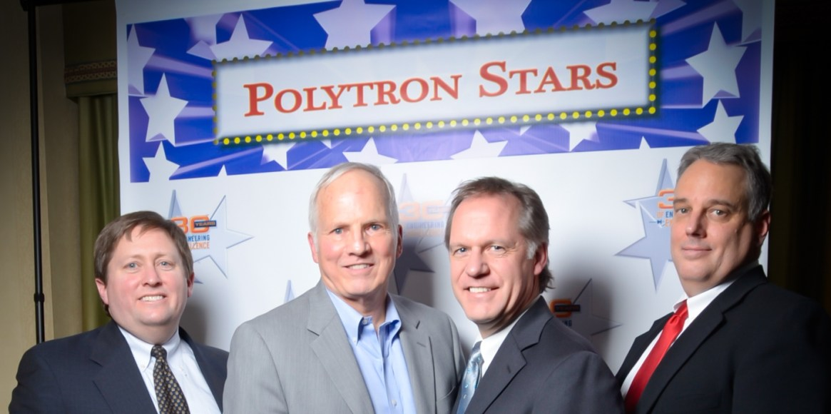 L-R: Ron Rich, CEO, Charlie Jager, Founder and President Emeritus, Brent Stromwall, Vice President Business Development, and Damian Stahl, Vice President Operations
