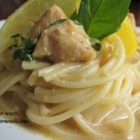 lemon basil pasta with chicken