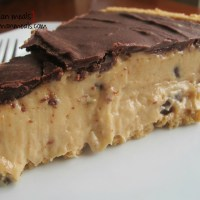 chocolate 'nana butter pie