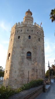 The Leaning Tower of Torre del Oro.