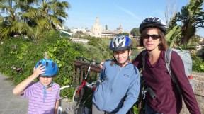 Biking in Triana....