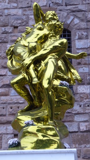 The artist Jeff Koons is allowed to do this. We still do not know why.