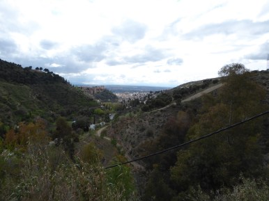 The Valley of Sacromonte.
