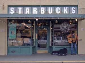 Starbucks Original Store, Pike Place, Seattle